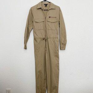 H&M khaki jumpsuit size 6